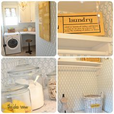 laundry room - The Inspired Room