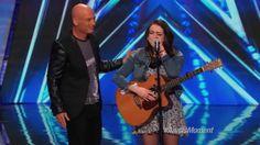 America's Got Talent 2014 - Anna Clendening: Nervous Singer Delivers Stu...