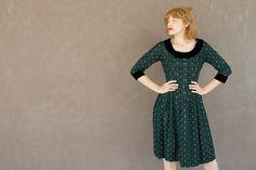 Vintage Dirndl Dress  MILKEYED MENDER Size xs by moonchildvintage, $85.00