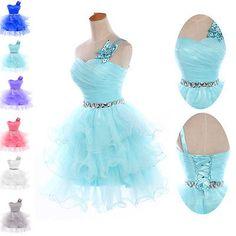Semi Formal Short Prom Dress Masquerade Gowns Party Graduation Evening Dress