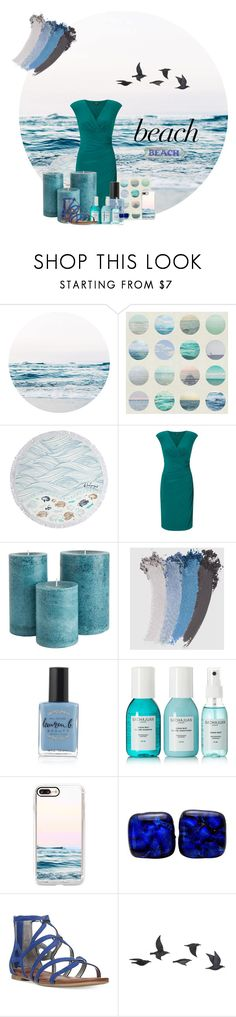 """""""Ocean Mist Palette"""" by celestialstyles7408 ❤ liked on Polyvore featuring Ralph Lauren, Gucci, Lauren B. Beauty, Sachajuan, Casetify, Carlos by Carlos Santana and Jayson Home"""