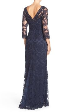 Tadashi Shoji Embroidered Tulle Gown | Nordstrom