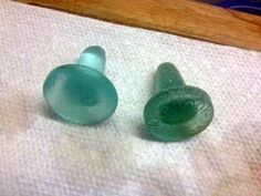 Sea Glass Bottle Stoppers: ~ submitted by Jeanie Carter at...