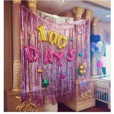 13M Gold Siver Shiny Metallic Foil Curtains Party Fashion Design Wedding Christmas