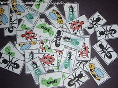 A fun sight word game! PDF of K, 1st and 2nd grade words & lots of cute ideas!