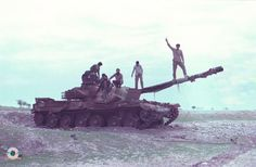 Iranian Chieftain Mk5, Iran Iraq War