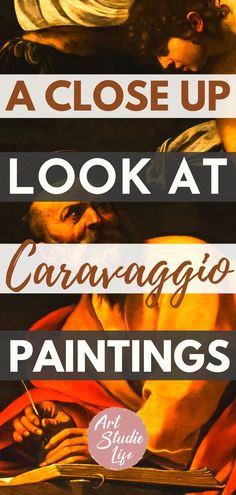So interesting to learn more about the italian painter Caravaggio!! You can see in Caravaggio paintings the intensity of the painter...but incredible chiaroscuro painting technique examples at… More