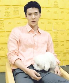 Sehun and Vivi, vivi knows what she is doing ;)