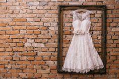 Vestido emoldurado - daminha