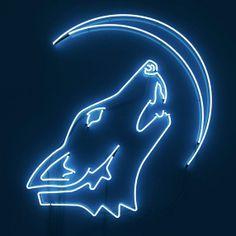 Wolfpack Neon Wall Art