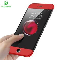 Mobile Phone Bags & Cases. FLOVEME Cases For iPhone 7 6 5s For iPhone 6 Plus Case Luxury Red Black 360 Hard Conque Phone Case For iPhone 5S 5 SE Cover Capa. #Mobile Phone Bags & Cases