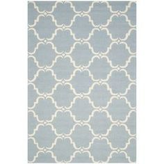 Lydia Rug in Blue & Ivory