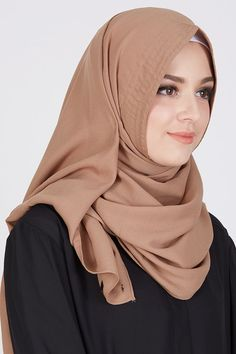 Sell Pasmina Instan Brown Instant-hijab   Hijabenka.com