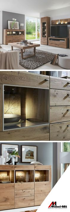 Möbel sind nicht nur ein Mittel zum Zweck. Sie verändern auch unser Raumklima und machen einen leeren Raum zu einem Ort der Geborgenheit. Entdeckt die Serie Jon von Hartmann und lasst euch von dem warmen Licht und der edlen Kerneiche verzaubern. - Möbel Mit www.moebelmit.de