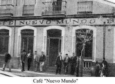 """Café """"Nuevo Mundo""""."""