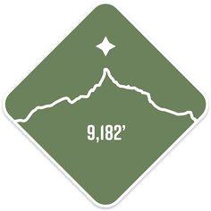 f3124cbe5932f5 Mt. Thielsen - Cascade Range Summit Series Weatherproof Sticker