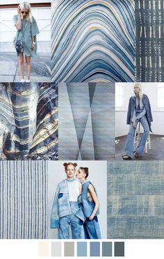 S/S 2017 Women's Colors Trend: TONES OF BLUE