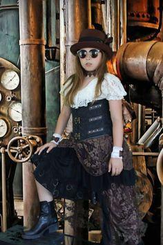 Steampunk Kids, Style, Fashion, Swag, Moda, Stylus, La Mode, Fasion, Fashion Models
