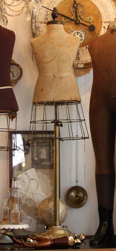 French Antique Child Size DressForm VERY by ParisCoutureAntiques, $3300.00
