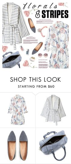 """""""Florals & Stripes Contest! Enter!"""" by kearalachelle ❤ liked on Polyvore featuring Gap, Tucker and Chloé"""