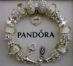 Authentic Pandora Bracelet with Pandora hinged by charmingelementz