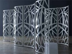 Biombos Colección Laser by ELITE - divisione matteograssi   diseño Ruggero Camilotto