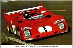 1972 Ferrari 312 PB Ferrari (3.000 cc.) (A) Jacky Ickx Clay Regazzoni