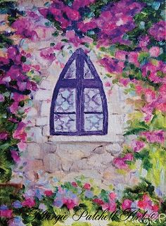 Impressionist Art, Inspiration, Floral Art, Painting, Art, Serenity, Original Art