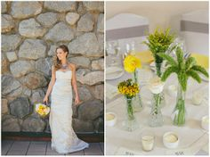 Nature Chic | Grey & Yellow: Real Wedding - Want That Wedding ~ A UK Wedding Inspiration & Wedding Ideas Blog