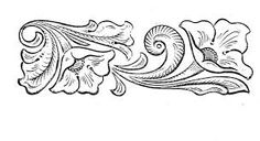Resultado de imagem para drawings patterns for carving in leather