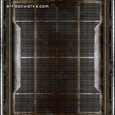 floor sci-fi texture