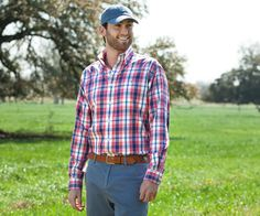 Southern Marsh Collection — The Hudson Plaid http://www.dixiepickersstore.com/