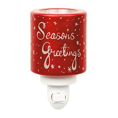 COMING SOON! Nothing says Festive like this glowing red Scentsy warmer…