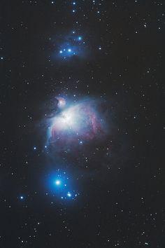 M42, M43, Nebula NGC1977, aka the Running Man