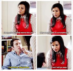 Mindy and Danny. The Mindy Project The Mindy Project, Mindy Kaling, Snack Bar, Disney Channel, Pretty Little, Geek Stuff, Ships, My Favorite Things, Film