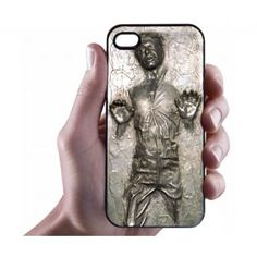 Han Solo Carbonite iPhone Case - Hard Plastic Cell Phone Case (No, I am not getting an iPhone 4 or but this is pretty cool) Iphone 5 Cases, Cell Phone Cases, Han Solo Frozen, Coque Iphone 4, Cool Tech, Geek Out, Cell Phone Accessories, Geek Stuff, Star Wars