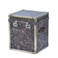 Buy Andrew Martin Distressed Safari Trunk Online From Occa-Home
