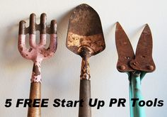 Here are some of our favorite tools (some obvious, and others not-so-obvious) for managing the Startup PR pitch process and workflow. Vintage Gardening, Organic Gardening, Garden Junk, Garden Tools, Old Tools, Antique Tools, Rust Never Sleeps, Turquoise Painting, Garden Tool Storage