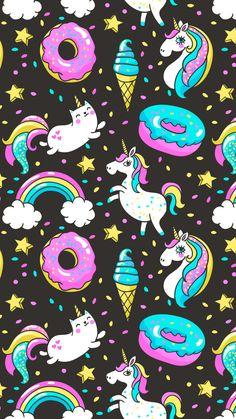Unicorns and a cat-icorn 😋 cute and amazing animals единорог, милые обои, Unicornios Wallpaper, Cute Wallpaper Backgrounds, Galaxy Wallpaper, Cute Wallpapers, Iphone Wallpapers, Unicorn Wallpaper Cute, Cute Wallpaper For Phone, Unicorn Art, Cute Unicorn