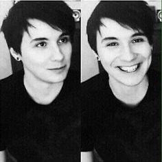 Image result for dan howell black and white