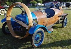 THE HELICRON - FRENCH PROPELLER DRIVEN CAR - 1932