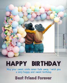 Friendship Birthday Wishes, Happy Birthday Wishes Sister, Happy Birthday Wishes For A Friend, Beautiful Birthday Wishes, Happy Birthday Wishes Images, Happy Birthday Girls, Happy Birthday Candles, Birthday Greetings, Happy Birthday Facebook Post