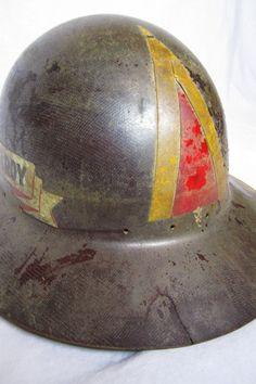 Antique Coal Mining Hard Hat