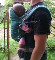 Babycarrier porte-bébé préformé P4 de Ling Ling d'amour : évolutif, en tissu d'écharpe, de 4 mois à 18 kgs. Portage