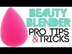 Beauty Blender Pro Tips & Tricks - YouTube