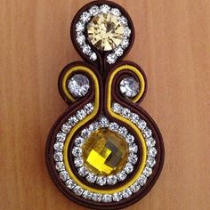 (Zarcillos_soutache) | Iconosquare