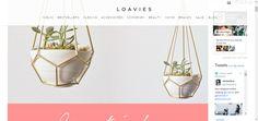 Fashion blog geïnspireerd op de laatste musthaves. - GEOMETRISCHE PLANTENHANGER | Fashion Webshop LOAVIES