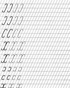 Елементи на буквите Alphabet Writing Worksheets, Writing Practice Worksheets, Handwriting Worksheets, Tracing Worksheets, Handwriting Practice, Preschool Worksheets, Writing Activities, Different Handwriting, Learn Russian