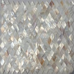 tiles Backsplash Seamless White Mother of pearl tile backsplash Rhombus Diamond shell mosaic bathroom wall tile Stone Mosaic Tile, Mosaic Glass, Stained Glass, Mosaic Bathroom, Bathroom Wall, Mosaic Mirrors, Mother Of Pearl Backsplash, Wall Tiles, Cement Tiles