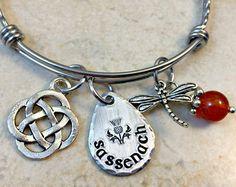 Sassenach Necklace Sassenach Jewelry Dragonfly Charm by ModJules